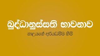 බුද්ධානුස්සති භාවනාව - Buddhanussathi Bawanawa - Nauyane Ariyadhamma Thero