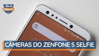 Como são as Câmeras do ZenFone 5 Selfie | Teste Fanático