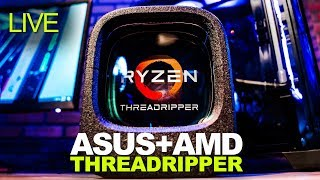 Live: ASUS Talks AMD Threadripper, X399 Motherboards, Overclocking and More!
