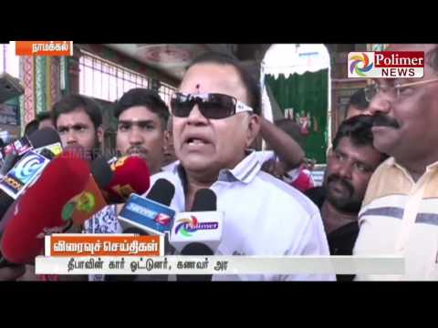 Deepa s Car Driver is in Politics and what is wrong if Rajni enter Politics asks Radha Ravi News