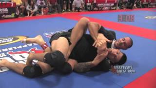 Submission Rear Naked Choke - Rafael Lovato Jr vs. UFC Roger Narvaez at Grapplers Quest Texas