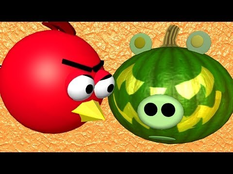 Halloween with some Angry Birds ♫ 3D animated Game Parody ☺ FunVideoTV Style ;