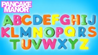 ALPHABET SONG ♫ | Learn English ABC Song for Kids | Pancake Manor