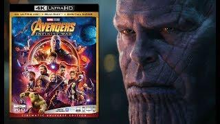 Download Avengers Infinity War BlueRay HDR FULL HD 5.1 Audio (English + Hindi) Dual Audio