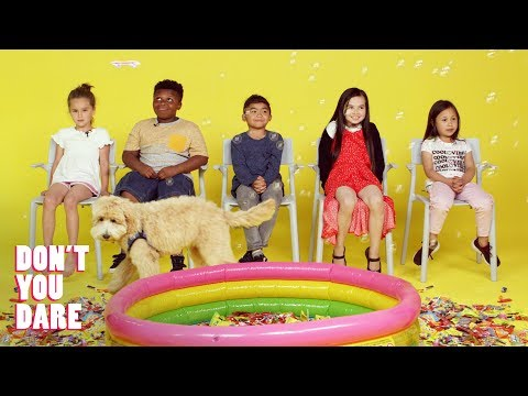 We Challenged Kids to Stay Completely Still Don t You Dare HiHo Kids