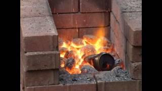 Homemade Blacksmiths Forge
