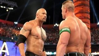 WWE Royal Rumble 2013: The Rock vs John Cena - WWE'12 Match Simulation