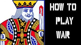 How to play War: Card Games