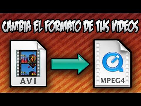 Xxx Mp4 COMO CAMBIAR EL FORMATO A CUALQUIER VIDEO Mp4 Avi Mov Ect 2016 3gp Sex