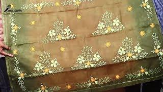 মাত্র ১৮০০ টাকায় কিনুন Exclusive এপ্লিক এমব্রয়ডারি শাড়ি ঈদ কালেকশান||Eid Special Sarees Collection