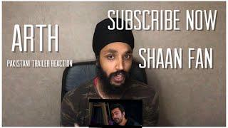 Arth - The Destination | King Shaan Shahid | Pakistani Trailer | Indian Reaction
