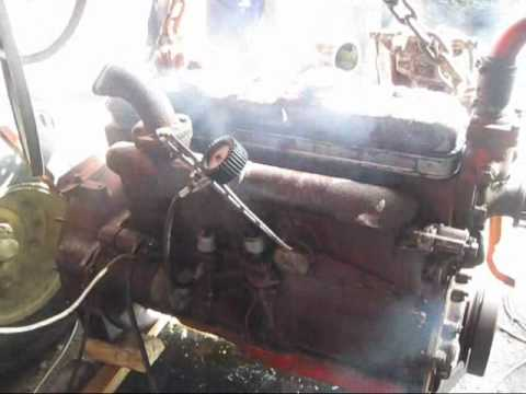 Odpalanie silnika SW400 Bizon Super