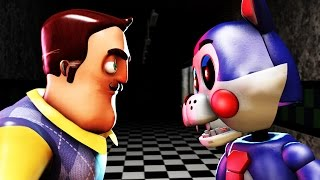 TRY NOT TO SCREAM NEIGHBOR VS FIVE NIGHTS AT CANDY