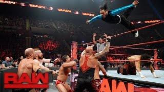 Hardy Boyz, Cesaro & Sheamus vs. Gallows and Anderson & Shining Stars: Raw, April 10, 2017
