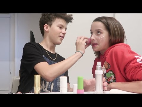 The Mostly Bloopers Makeup Video Annie LeBlanc