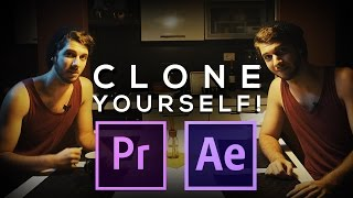 CLONE YOURSELF - After Effects and Premiere Advanced Cloning Tutorial
