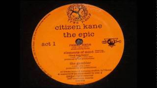 Citizen Kane - Elements Of Mind (Black Rain Remix)