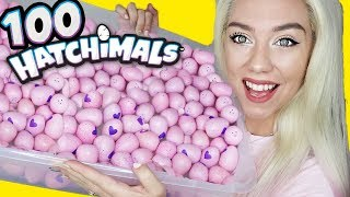OPENING 100 HATCHIMALS! $200 Hatchimals CollEGGtibles!! LIMITED, RARE, SUPER RARE FINDS
