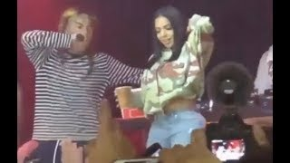 6ix9ine Brings Out New Girlfriend At Concert Dumps Baby Mama!