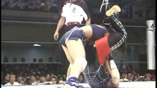 Yumi Fukawa vs Mariko Yoshida 9/26/99 (Part 1) [High Quality]