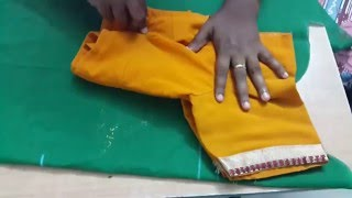 BLOUSE CUTTING IN ENGLSIH (Part 1)