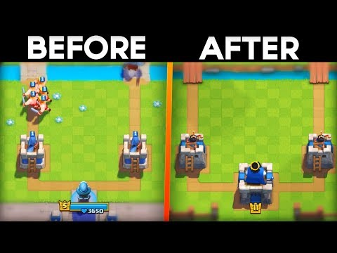 CLASH ROYALE IN 2014 VS 2017! (Never Before Seen Changes)
