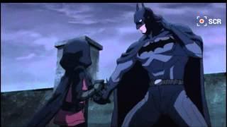 NEW BATMAN vs Robin: fight scene