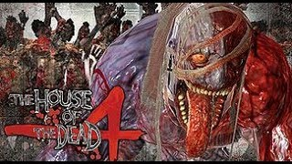 The House of the Dead 4 PS3 playthrough - Very Hard mode