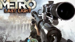 metro last light redux sniper mission gameplay