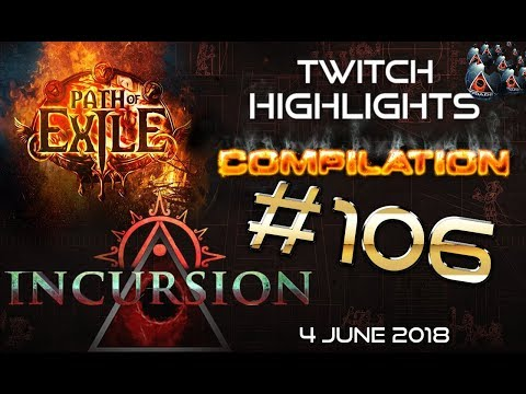 Xxx Mp4 Path Of Exile Highlights Day 2 3 Of Incursion Challenge League Poe Rips RNG Close Calls 106 3gp Sex