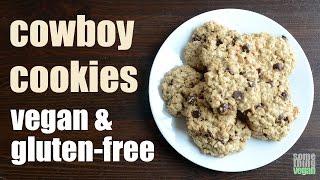 cowboy cookies (vegan & gluten-free) Something Vegan