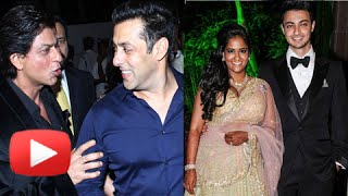 Celebs At Salman Khan Sister Arpita Khan's Wedding Reception Party - Part 1