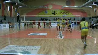 Mohamadreza fatahi libero volleyball match ball attack recieve volleyball