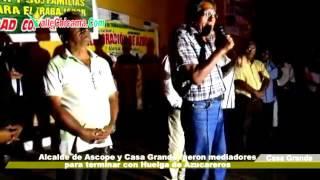 Alcalde de Ascope y Casa Grande fueron mediadores para terminar con huelga de Azucareros