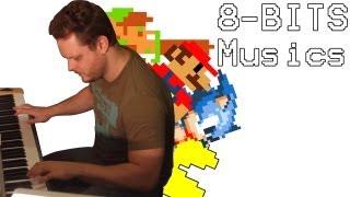 Pianista 8 bits - As melhores músicas 8 bits no sintetizador!