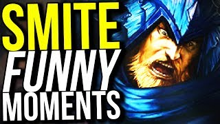 40% COOLDOWN REDUCTION ULLR IS OP! - SMITE FUNNY MOMENTS