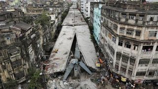 Kolkata Bridge Collapse : 18 Killed & 150 Injured | Full Video
