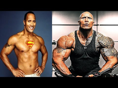 the rock transformation from 1 to 45 years old daikhlo