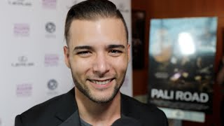 Actor Cody Gomes show his support for Pali Road and LA Asian Pacific Film Festival