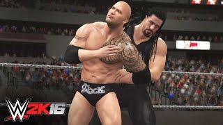 The Rock vs. Roman Reigns: WWE 2K16 Fantasy Showdown