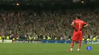 Casillas didn't celebrate when C.ronaldo scored against MAN CITY