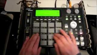 Spinscott - Live MPC 1000 Jungle / DnB Drumming (#6)