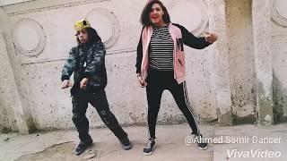 رقص معتصم فوكس بنت بترقص رقص دق فاجر اوي  على مهرجان الحبشيي النبطشي