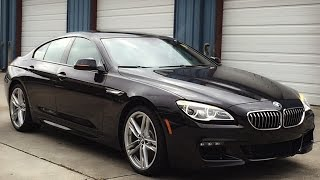 2016 BMW 640i Gran Coupe M Sport Full Review, Start Up, Exhaust