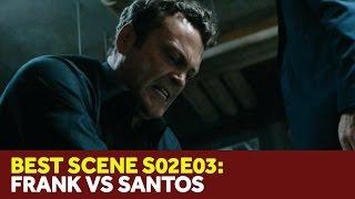 True Detective 2x03 - Frank Semyon Beats Up Danny Santos -