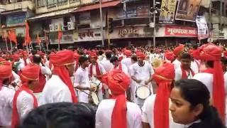 Shiv garjana Pune 2016 | Dhol Tasha Pathak Pune | Dagadu sheth ganpati shanivar wada| part 1