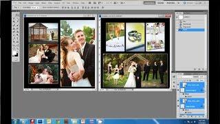 How to Create a Wedding Album in Photoshop.wmv