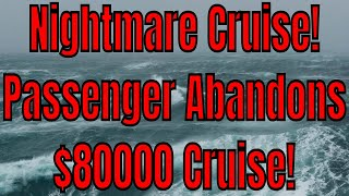 Nightmare $80,000 Round The World Cruise Saved By Travel Medical Insurance!