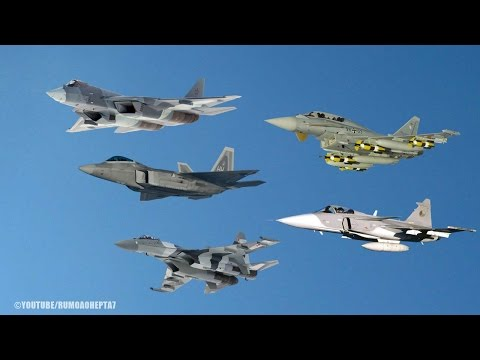 Top 5 Fighter Jets in the