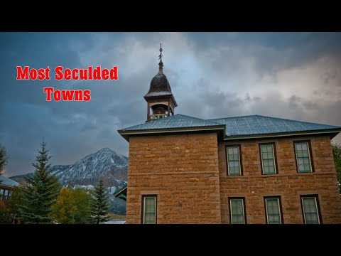 Top 10 most secluded towns in United States of America. Some Footage from FreewayJim